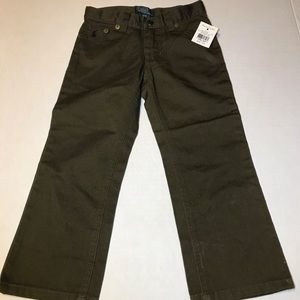 Polo Boys 3/3T Green Jeans NWT